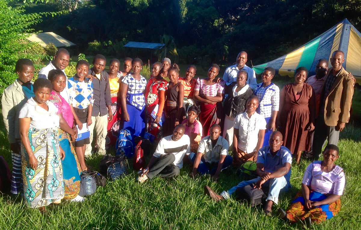 Zomba-Malawi: Induction training workshop for paralegals and community facilitators