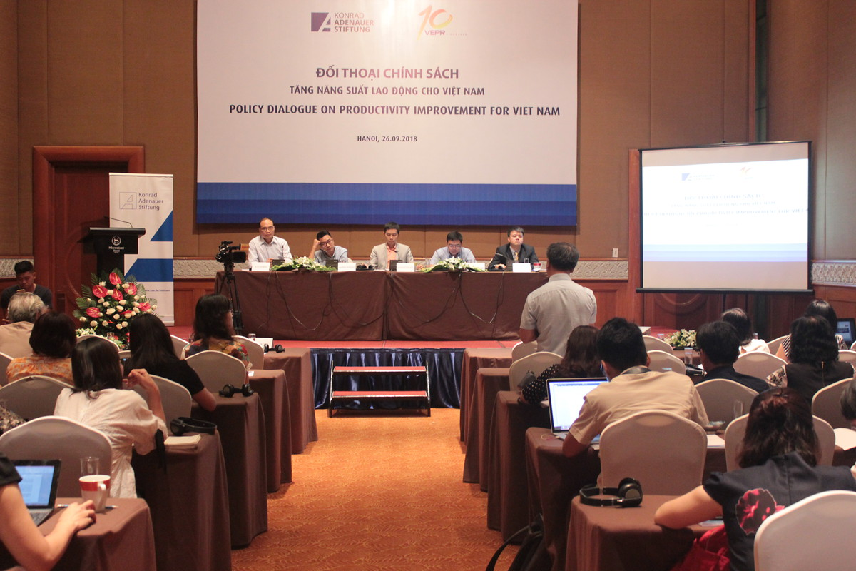 Policy Dialogue on Productivity improvement for Vietnam