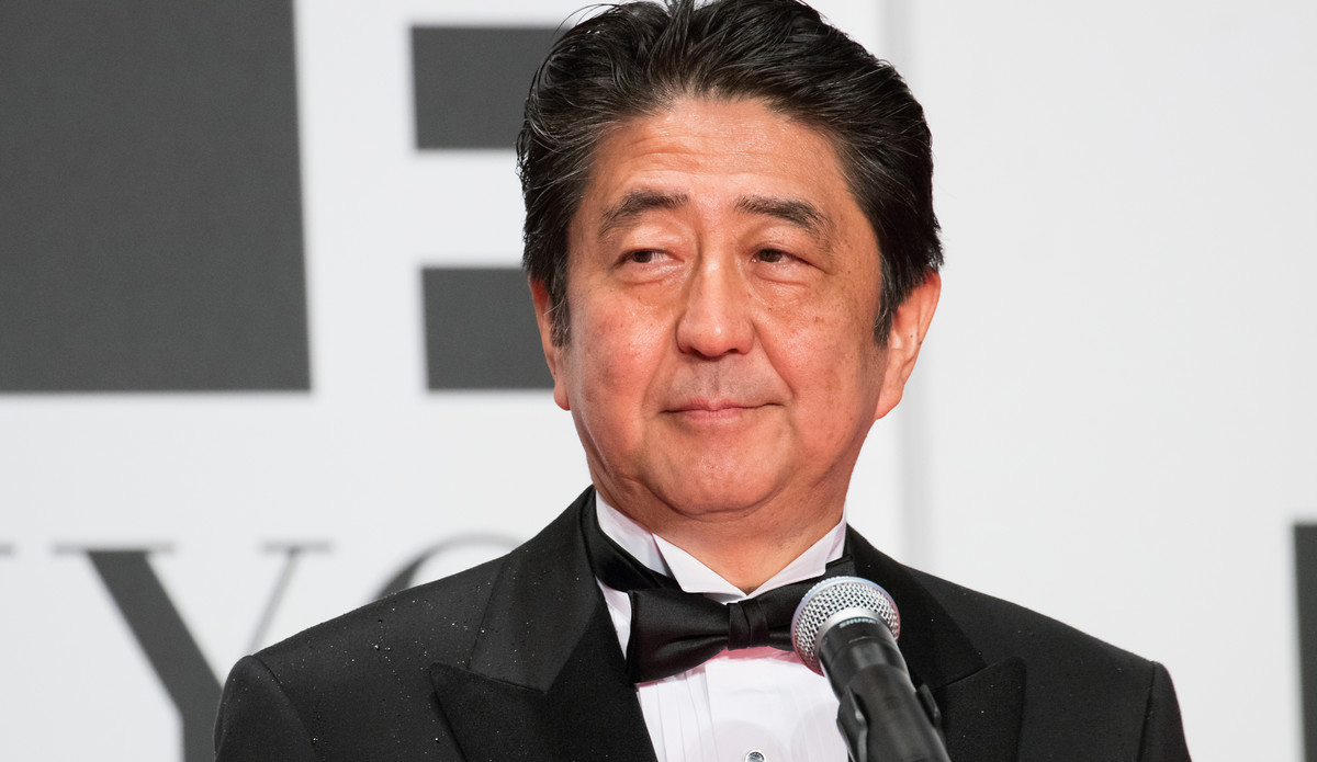 shinzo Abe, Japans Premierminister, hier im Oktober 2016. | © Dick Thomas Johnson / Flickr / CC BY 2.0