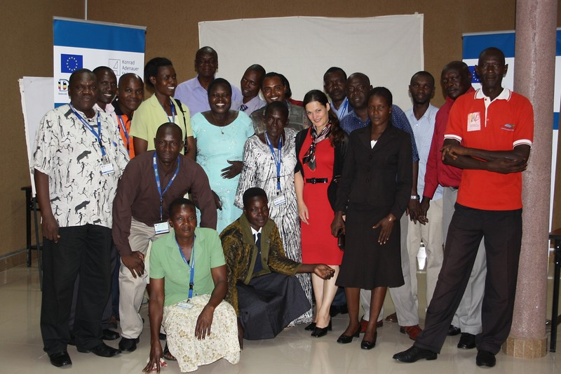 Group picture with Soroti District Councillors