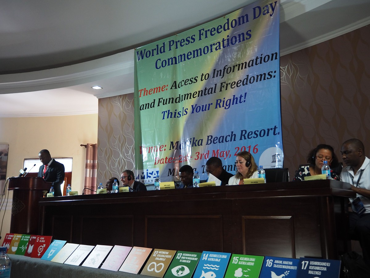 World Press Freedom Day 2016 (Tanzania)