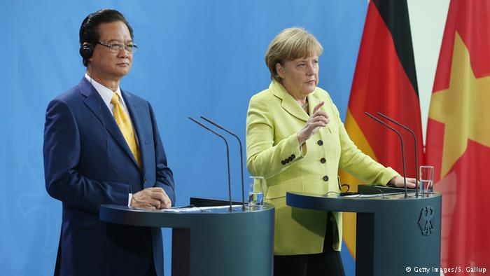 Vietnamese and German Prime Ministers have talks