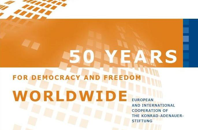 50 years for Democracy and Freedom Worldwide