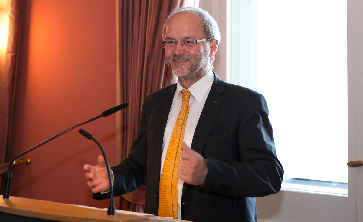 Germany-Australia Expert Dialogue on Political and Economic Challenges with MP Volkmar Klein and delegation of Australian business leaders, Berlin 19.5.2017. Volkmar Klein