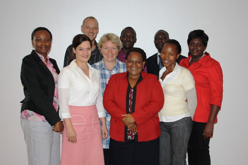 Project Team during the inception workshop