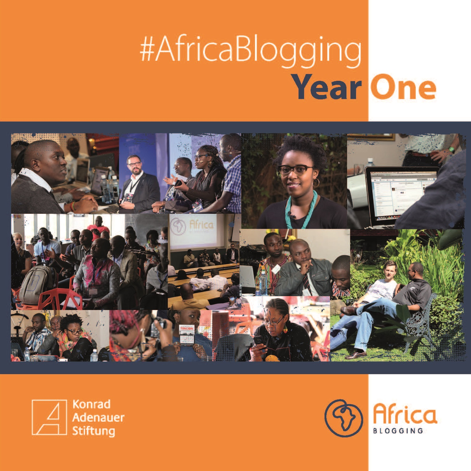 Cover: #Africa Blogging Year One Publication