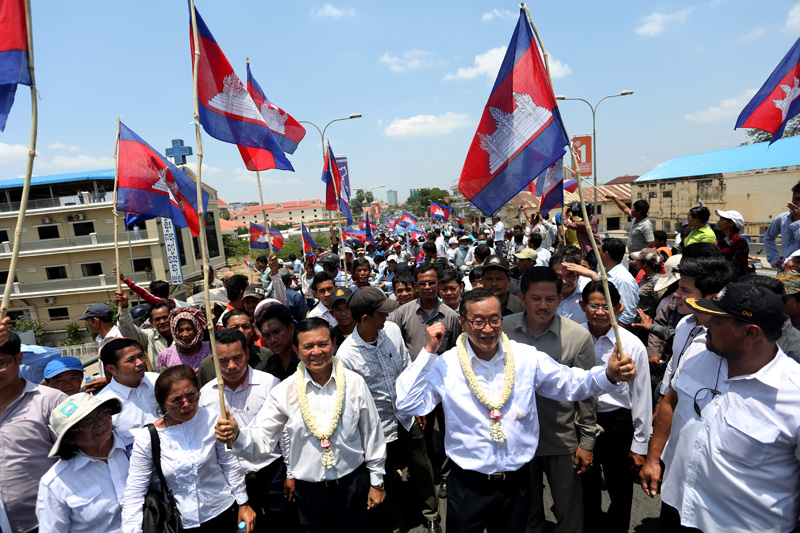 CNRP holds first mass rally since protest ban