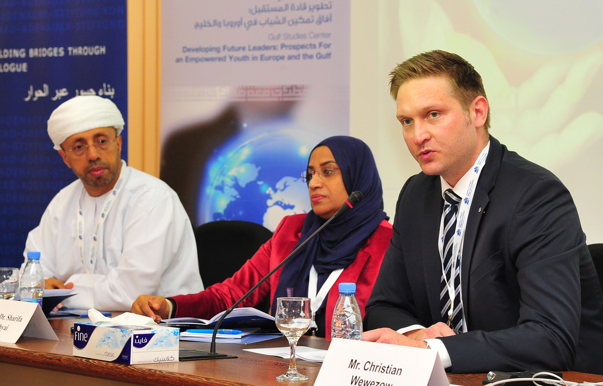 Developing Future Leaders - Prospects for an Empowered Youth in Europe and the Gulf