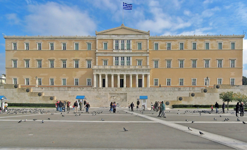 Griechisches Parlament in Athen | Foto: Andreas Trepke / Wikipedia