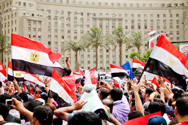 Demonstration at Tahrir Square, May 27