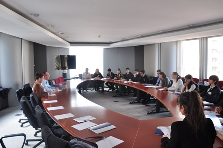 Azerbajani Delegation of the South Caucasus Youth Parliament II