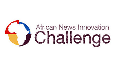 "Logo ""African News Innovation Challenge"""
