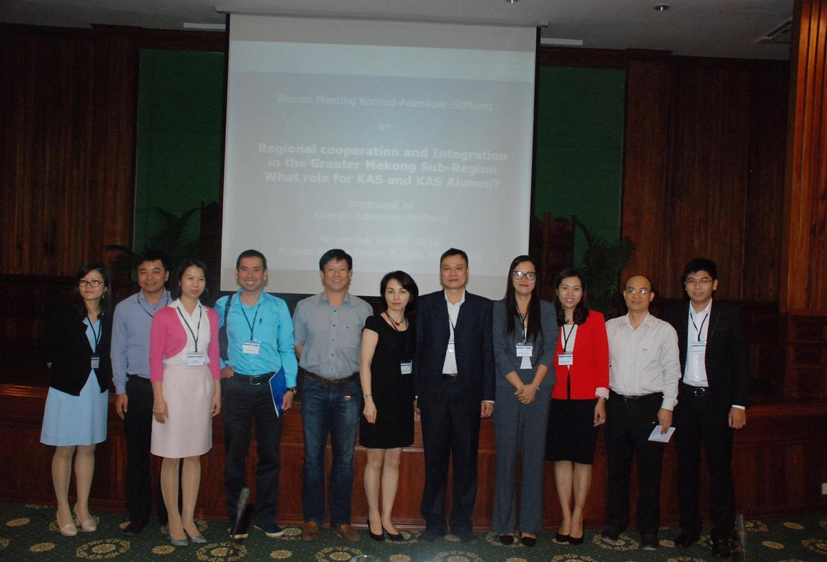 Group photo, Cambodia meeting