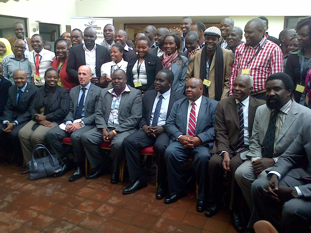 National Youth Forum on Devolution on 25th of Saptember 2014 - Members of the Panel