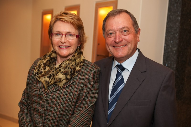 "Dr. Werner Boehler (KAS), Premier Helen Zille (Western Cape) at the function ""15 Years of the South African Constitution"" in Cape Town"