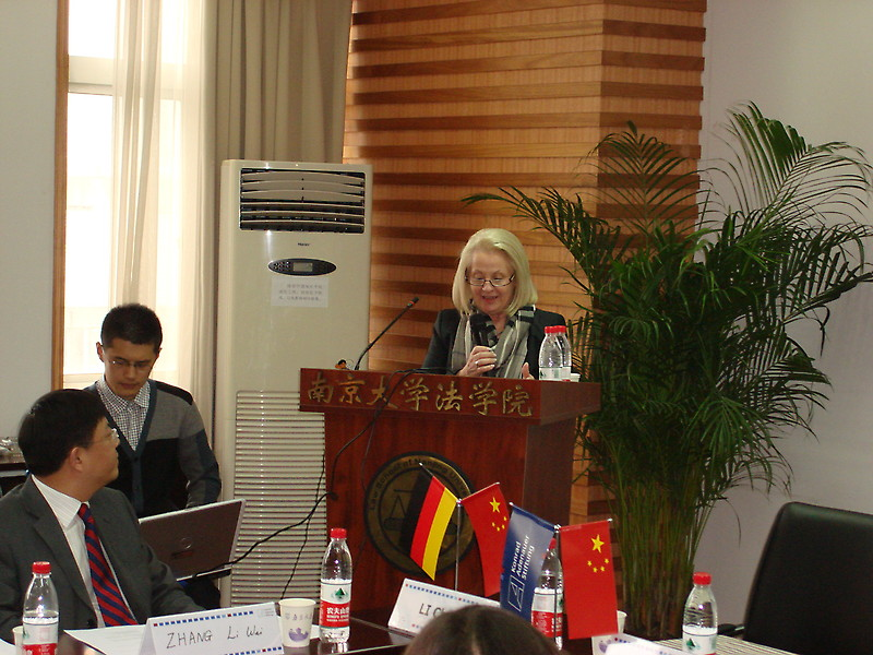 Christine Clauß, Minister of state of the Free State Saxony in Nanjing