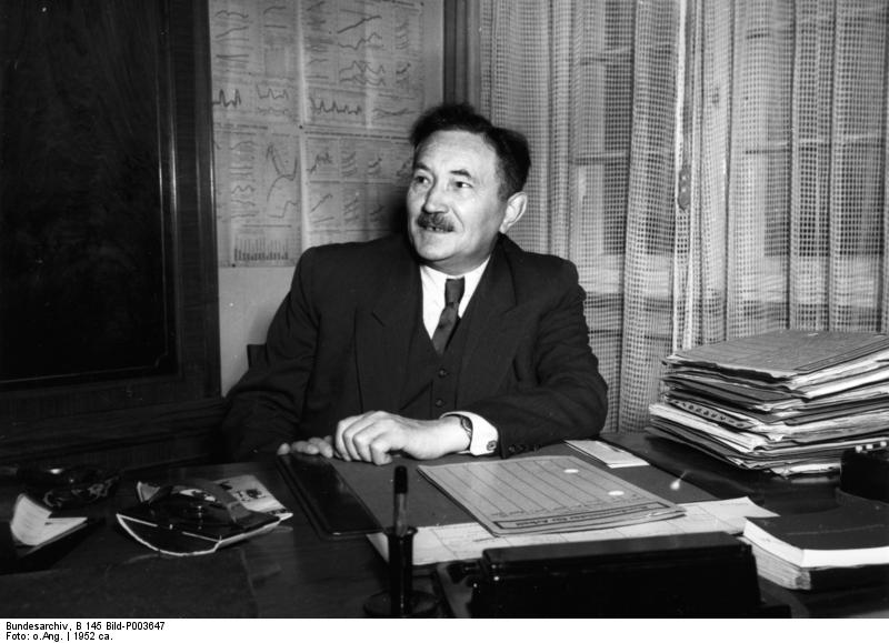 Anton Storch, 1952. (Quelle: Bundesarchiv, B 145 Bild-P003647 / CC-BY-SA 3.0)