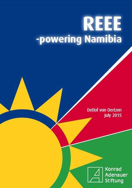 Cover: REEE-powering Namibia