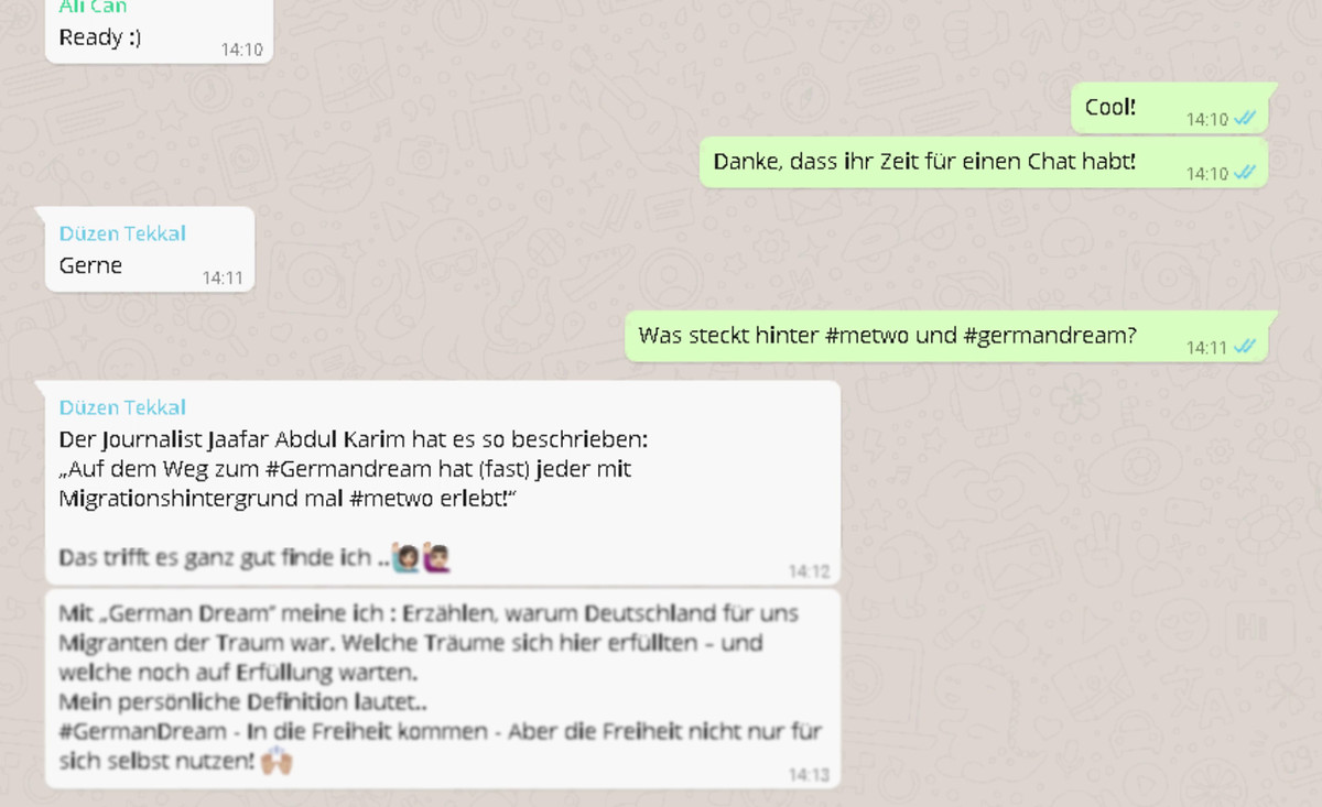 WhatsApp-Chat Screenshot
