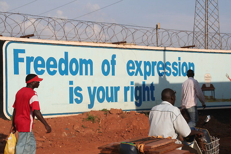 Freedom of expression is your right