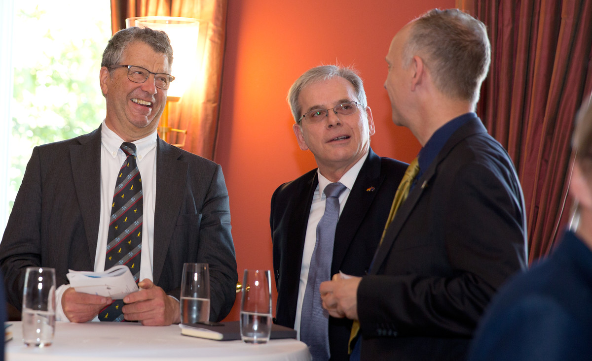 Germany-Australia Expert Dialogue on Political and Economic Challenges with MP Volkmar Klein and delegation of Australian business leaders, Berlin 19.5.2017