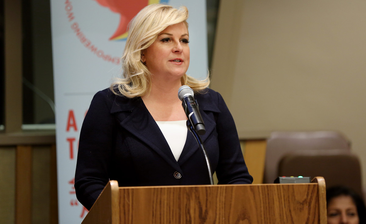 Kroatiens Präsidentin Kolinda Grabar-Kitarović | Foto: UN Women / Ryan Brown / Flickr / CC BY-NC-ND 2.0