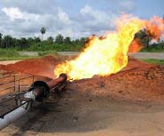 In the oilrich Niger Delta, Source: Friends of the Earth International