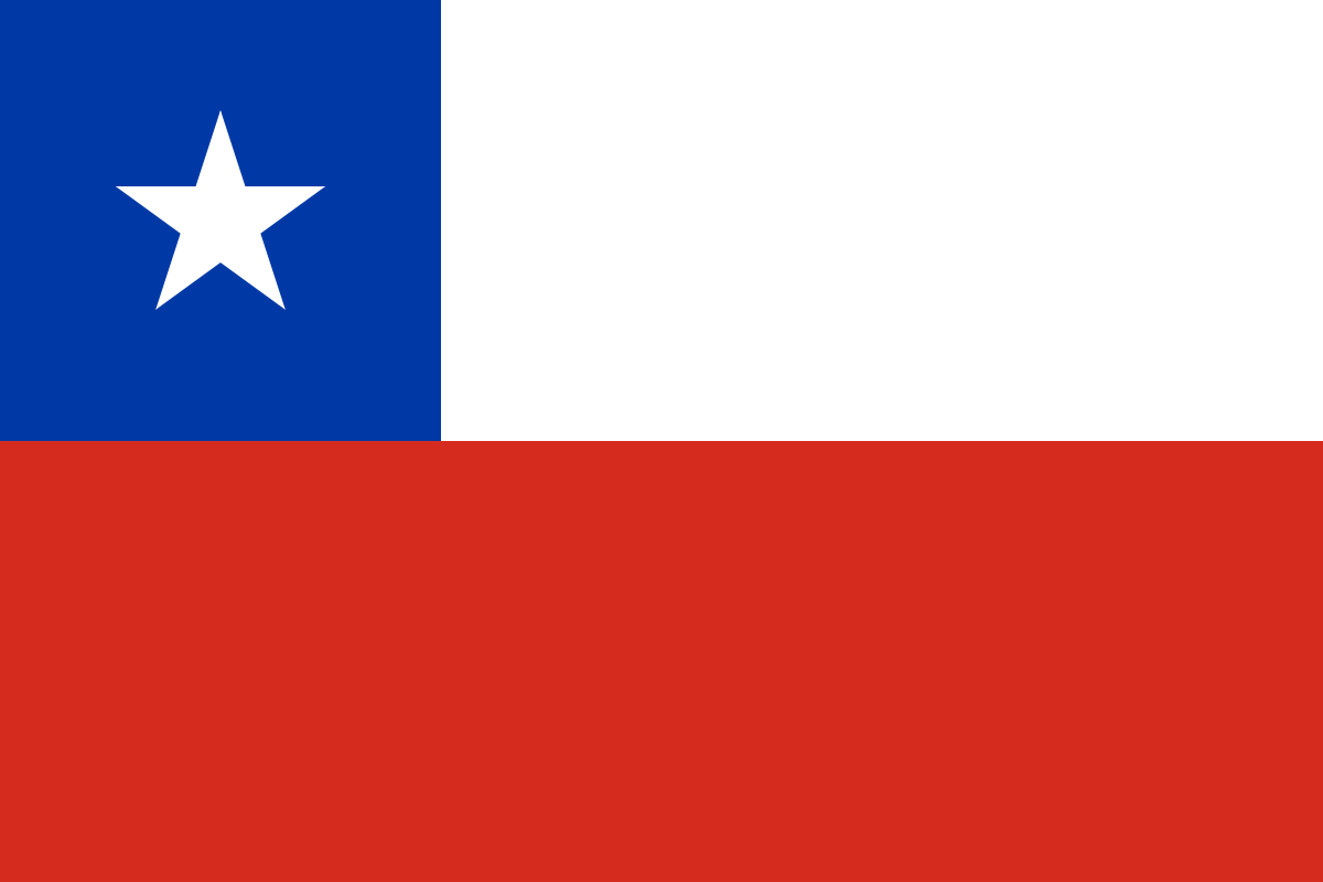 Nationalflagge Chile