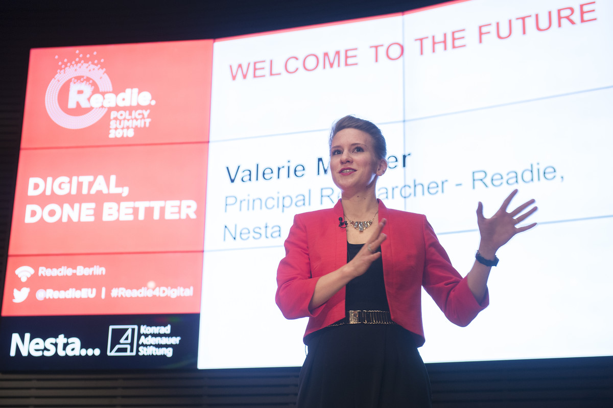 Valerie Mocker, Principal Researcher, Readie, Nesta