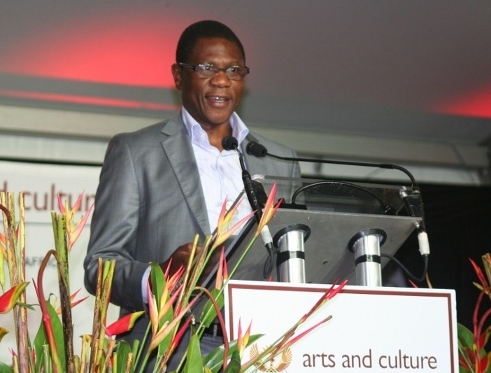 South Africa's Minister of Arts & Culture, Paul Mashatile