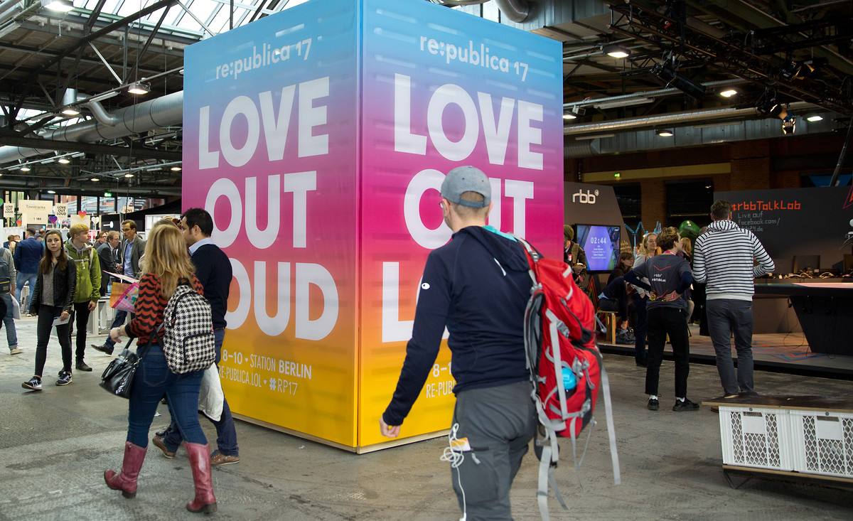 "Die Republica stand 2017 unter dem Motto ""Love Out Loud"""