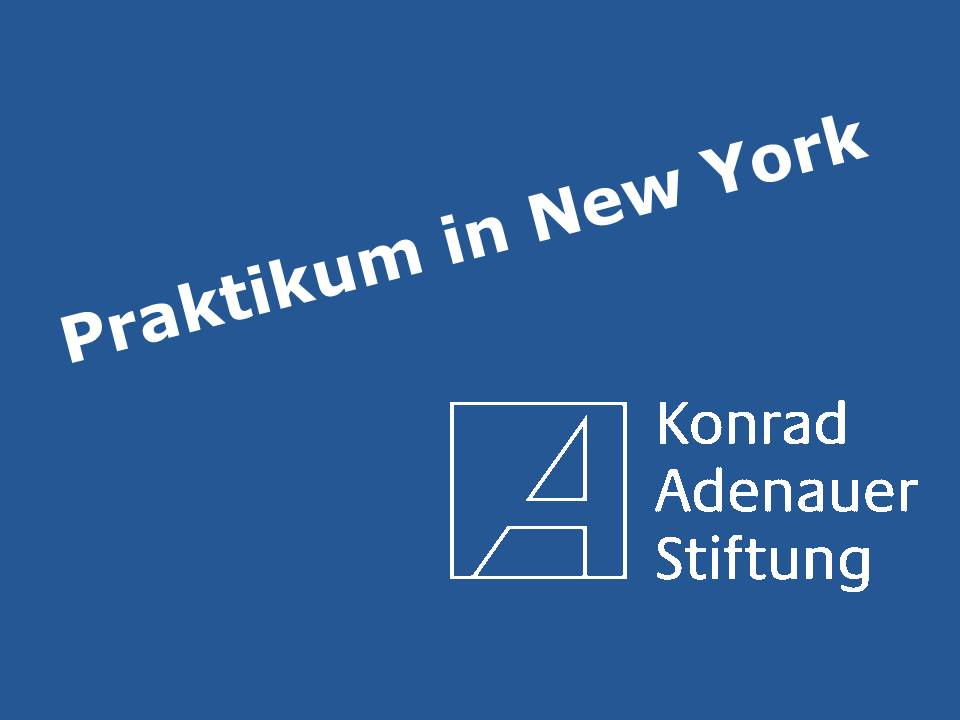 Praktikum in New York
