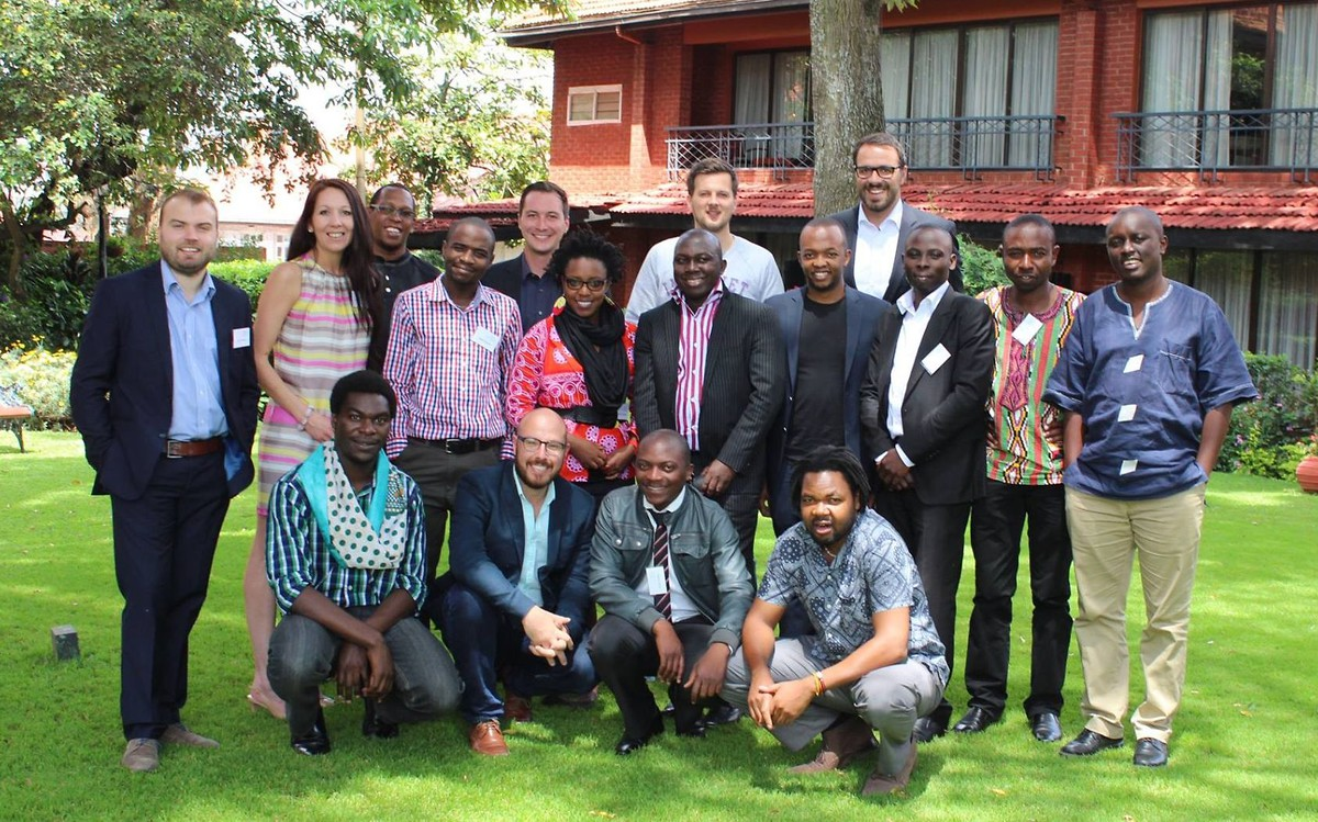 Participants of KAS Media Africa's Blogger and Journalism Workshop in Nairobi