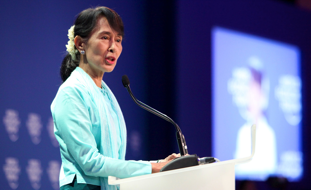 Aung San Suu Kyi | Picture: World Economic Forum/Flickr