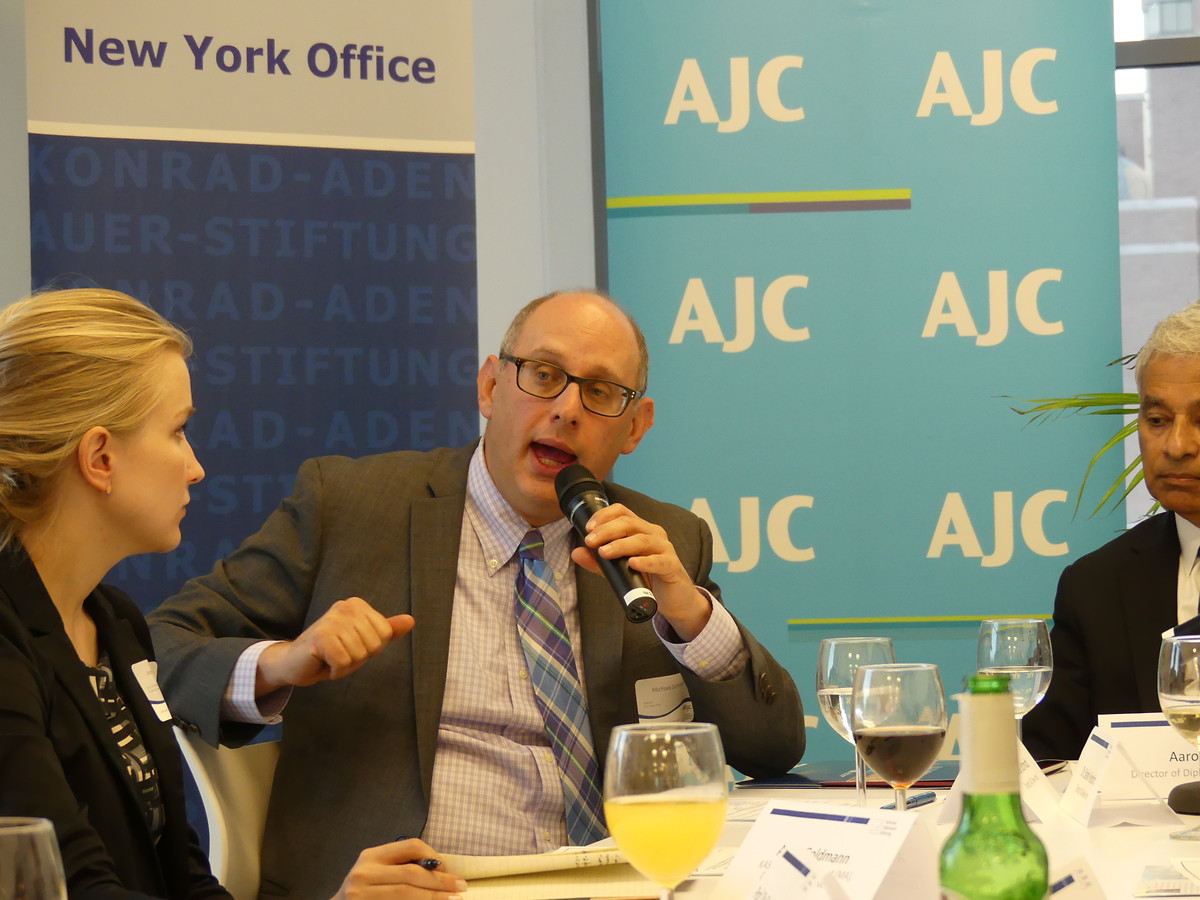 Michael Schmidt, Director of the AJC New York speaks about the ways in which the AJC works to impact opinion and policy at the highest level.