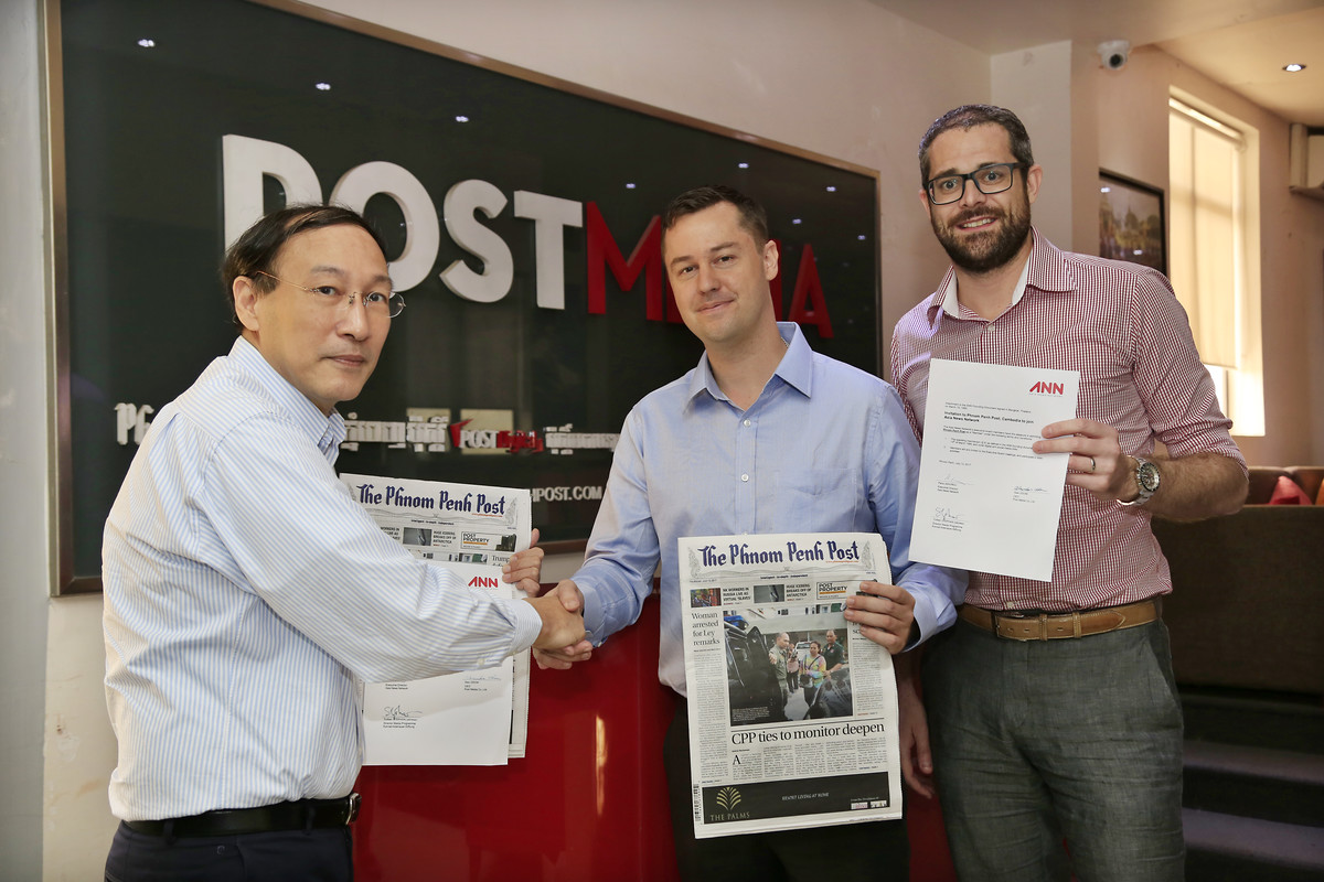 Asia News Network begrüßt Phnom Penh Post