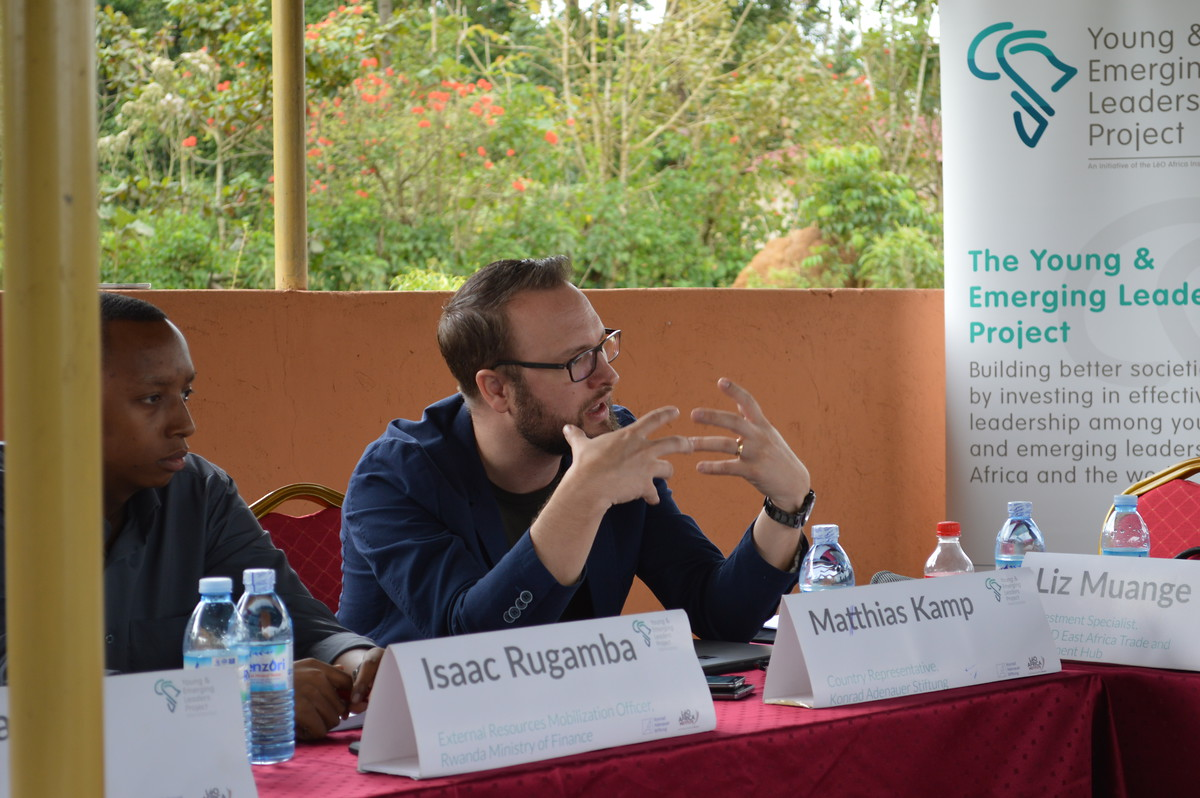 Mathias Kamp, Country Representative KAS Uganda