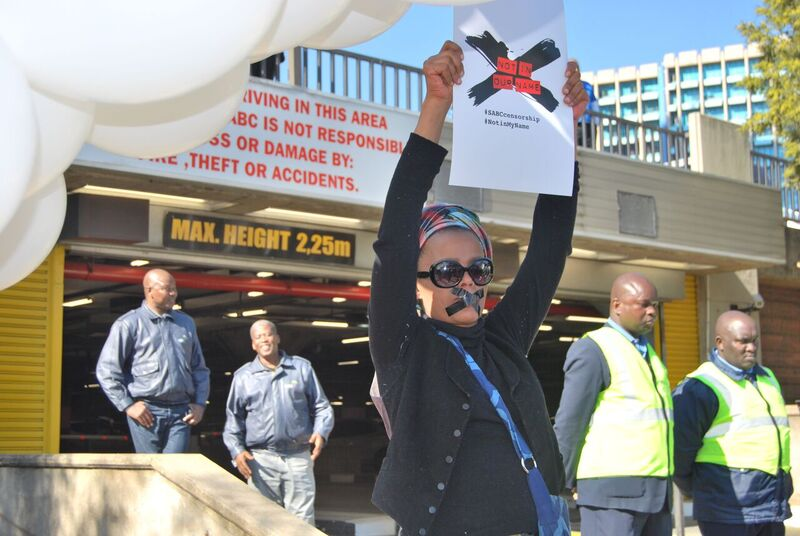 SABC Protests - SOS Coalition