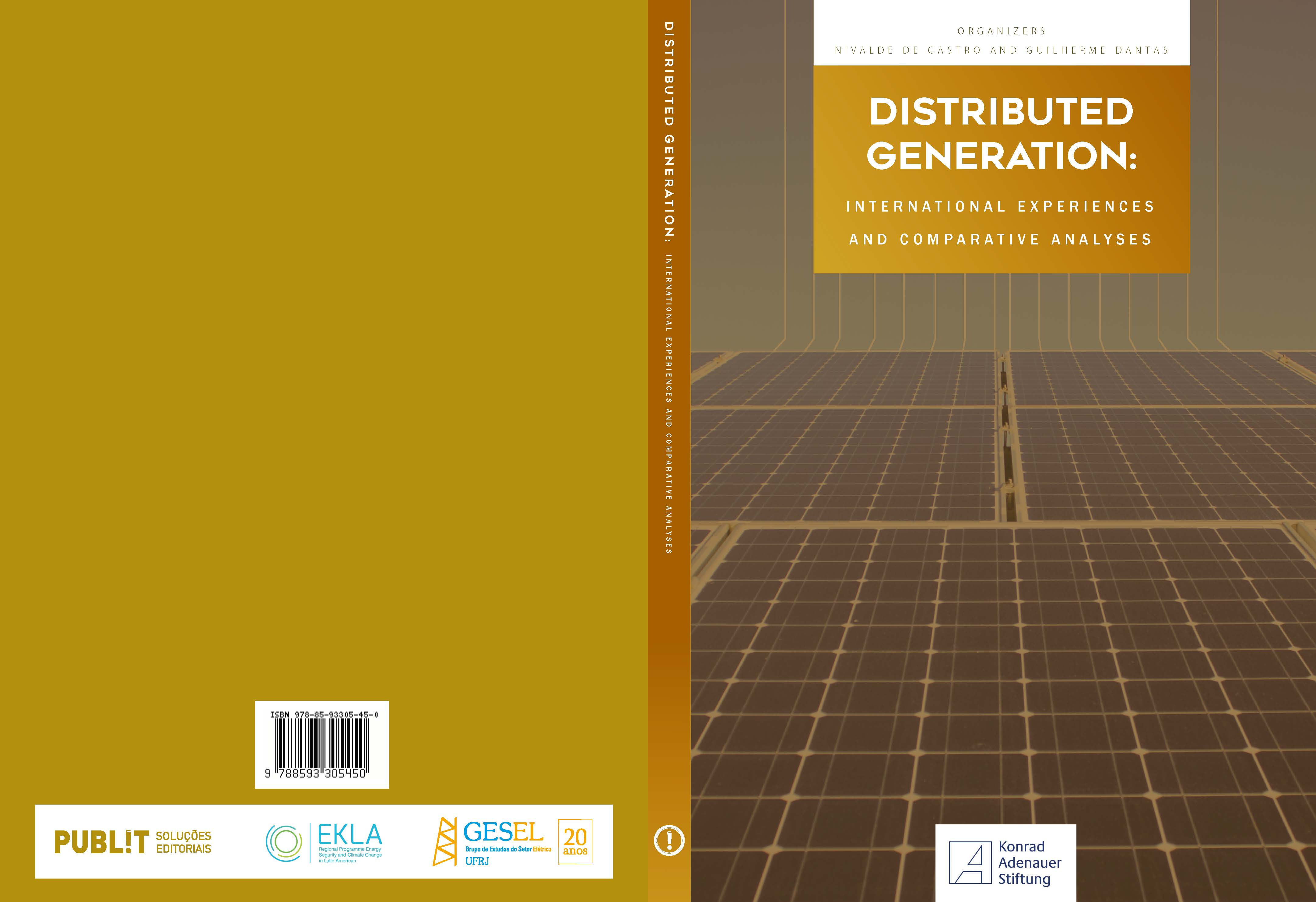 Cover: Distributed Generation: