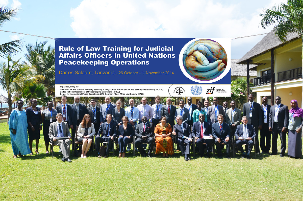 Rule of Law Training for Judicial Affairs Officers in United Nations Peacekeeping Operations.
