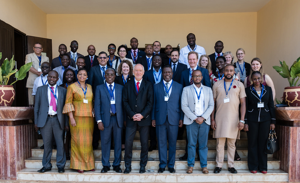 Participants of the 7th E-lection Bridge in Dar es Salaam, Tanzania