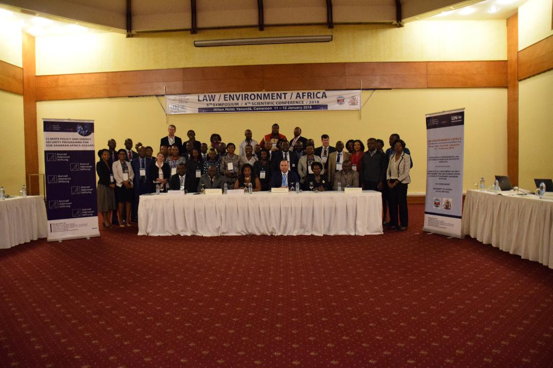 Group Photo, African Environmental Conference in Yaoundé Cameroon