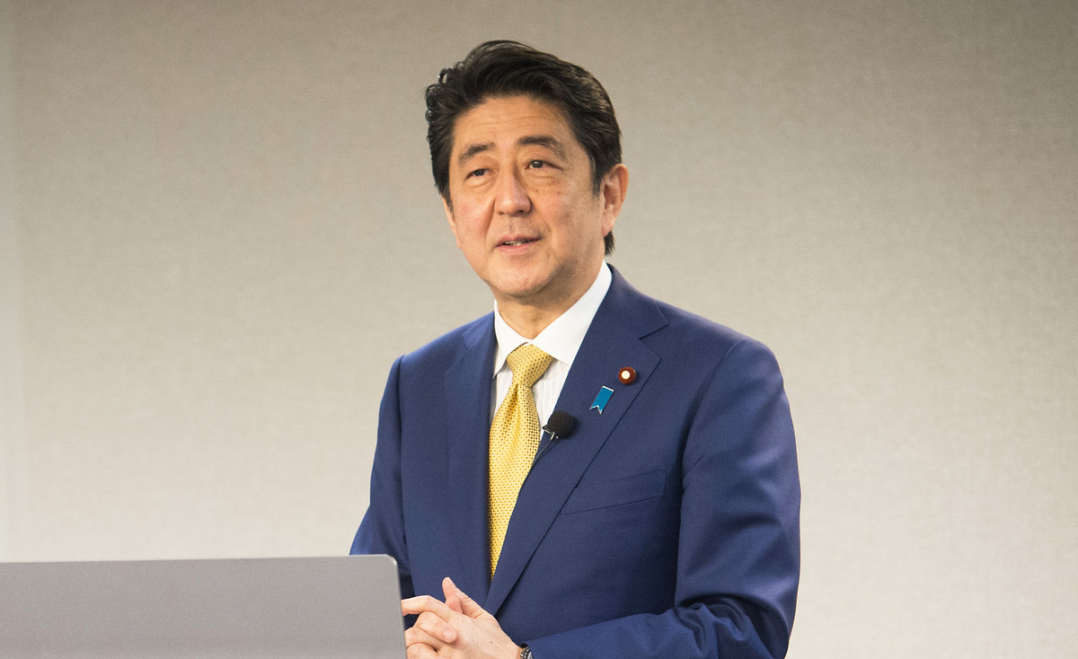Shinzō Abe, Ministerpräsident Japans | Foto: Flickr/Hudson Institute/CC BY 2.0